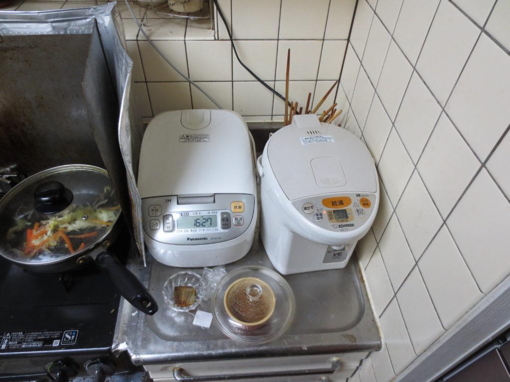 炊飯器と電気ポット